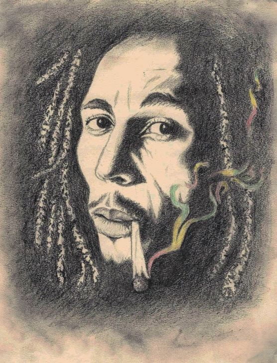 Inspiration Bob Marley Pencil Sketch Techniques Bob Marley Drawing - Google Search | Drawings | Bob Marley, Rasta Pic
