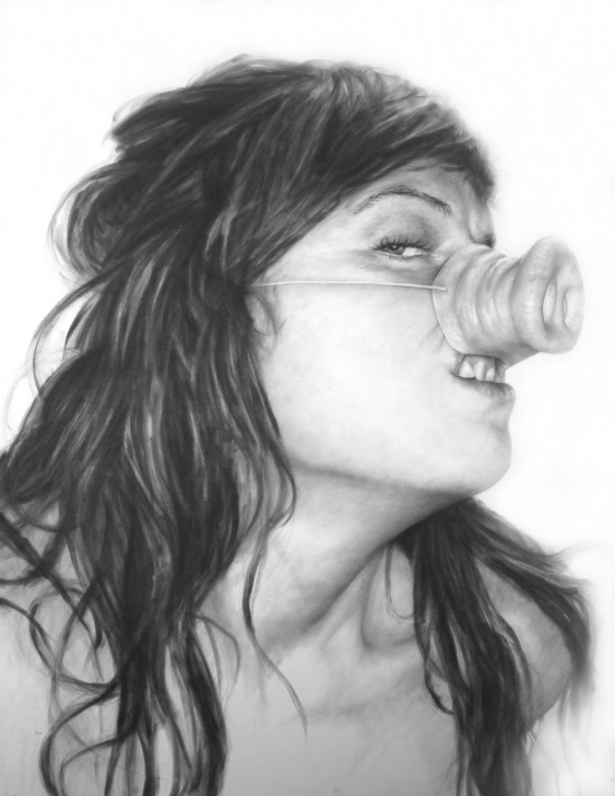 Inspiration Cool Portrait Drawings Lessons Ideas For Self Portraits Self Portrait Drawing Ideas | Drawing Photos
