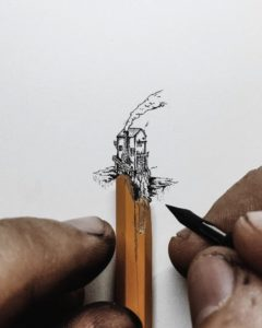 Inspiration Drawings Of Pencils Easy Tiny Ink Drawings Scaled To The Size Of Pencils, Fingers, And Images