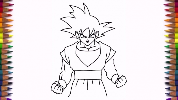 Inspiration Easy Goku Drawings In Pencil Easy How To Draw Goku From Dragon Ball Z Step By Step Easy Images