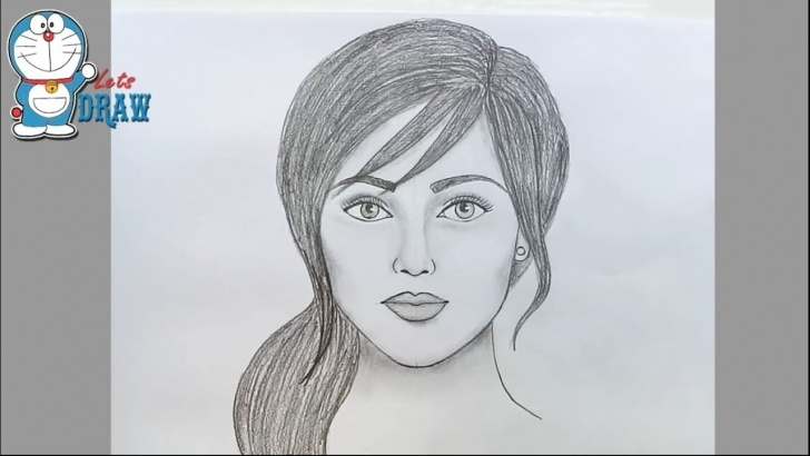 Inspiration Easy Portrait Drawing For Beginners Ideas How To Draw Face For Beginners/ Easy Way To Draw A Realistic Face Images