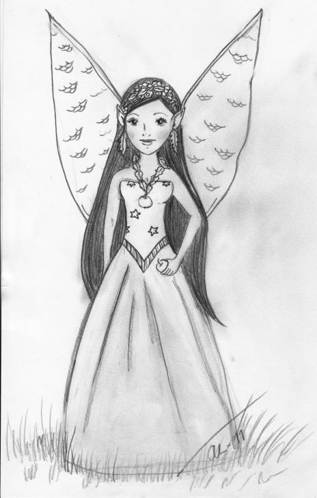 Inspiration Fairy Pencil Sketch Easy Sketch Drawings Of Fairies And Easy Pencil Drawing Of Fairies Pencil Photo