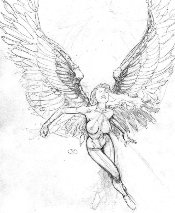Inspiration Guardian Angel Pencil Drawings Lessons Pencil Angel Drawings At Paintingvalley | Explore Collection Of Pictures