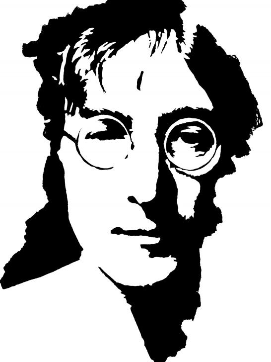 Inspiration John Lennon Stencil Art Ideas Pop Art John Lennon John Lennon 1 | Pictureicon Pic