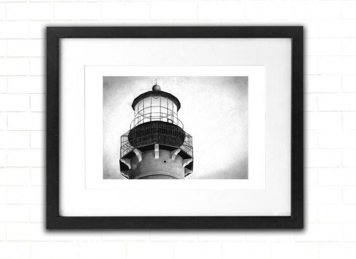 Inspiration Lighthouse Pencil Drawing Ideas Lighthouse, Art Print, Architecture Pencil Drawing, Beach, Fine Art, Wall  Decor, Cape May Point, Sketch, Cape May, Jersey Shore, New Jersey Photos