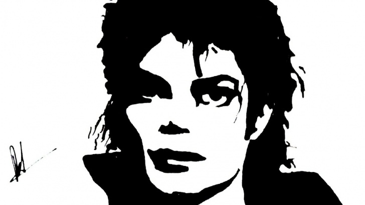Inspiration Michael Jackson Stencil Art Step by Step Michael Jackson Stencil Up Side Down(Stencil Art) Picture