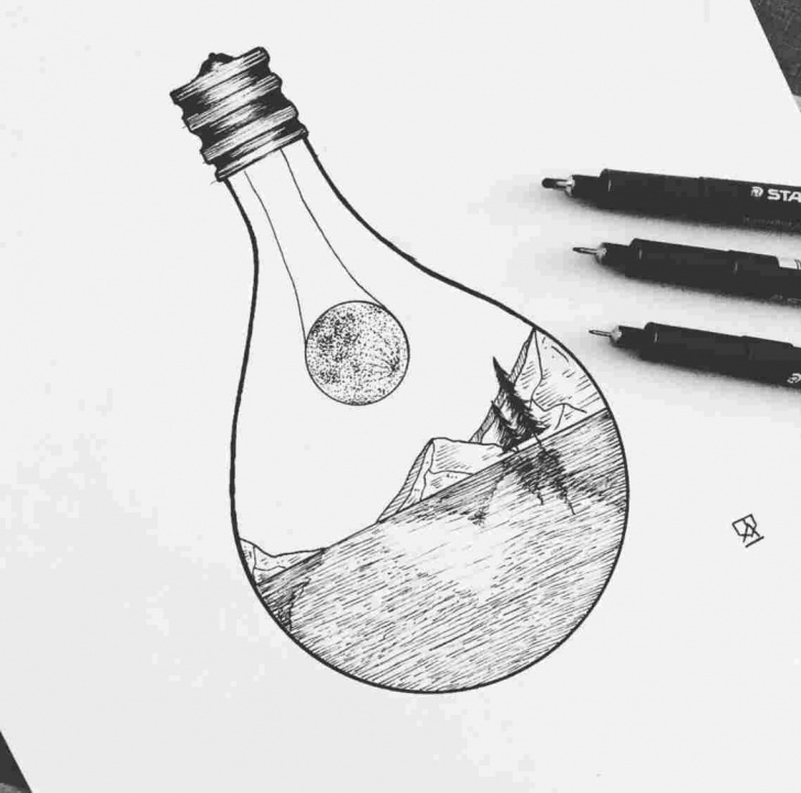 Inspiration Modern Art Pencil Drawings Easy Free Easy Pen Drawings At Paintingvalley | Explore Collection Of Easy Image