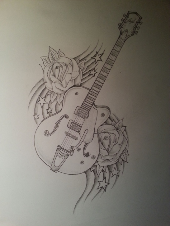 Inspiration Music Drawings In Pencil Simple Guitar Drawing | Drawings | Guitar Drawing, Music Drawings, Art Drawings Photo
