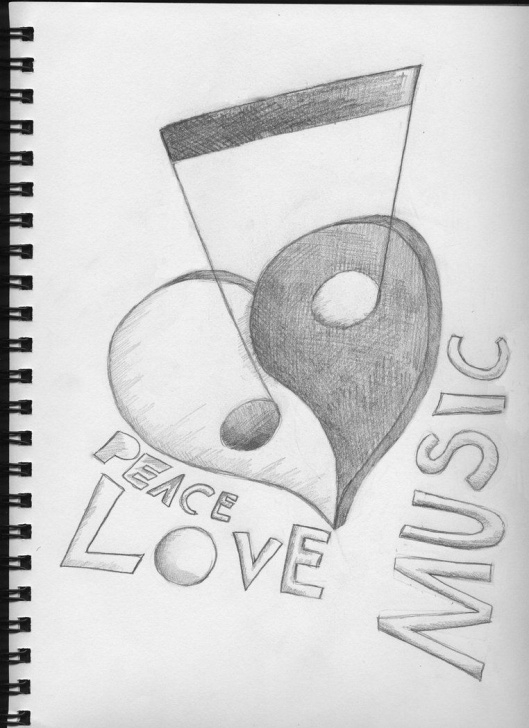 Inspiration Music Drawings In Pencil Tutorial Pin By Music -35 On Drawings In 2019 | Music Drawings, Drawings Pic