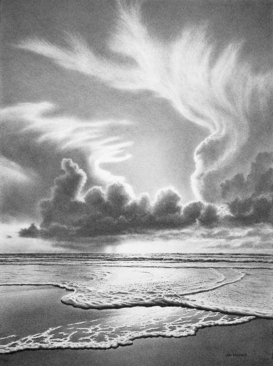 Inspiration Ocean Pencil Drawing Techniques for Beginners Ocean Pencil Drawing At Paintingvalley | Explore Collection Of Picture
