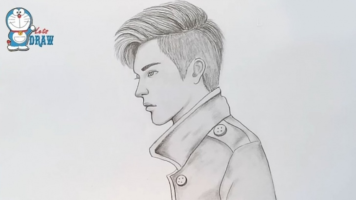 Pencil Drawing Of Boy