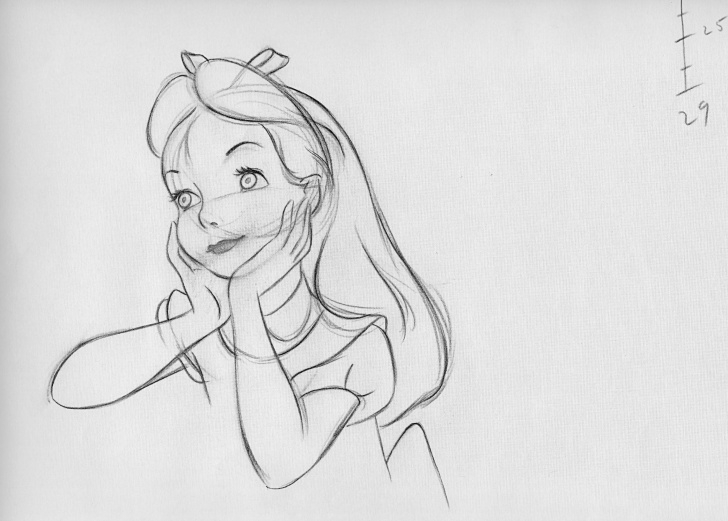 Inspiration Pencil Drawings Of Disney Characters Tutorials Disney Princess Pencil Drawing At Paintingvalley | Explore Pics