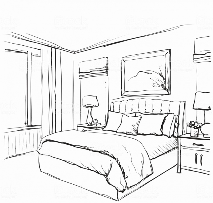 Inspiration Pencil Sketch Of A Bedroom Easy Bedroom Paintings Search Result At Paintingvalley Pic