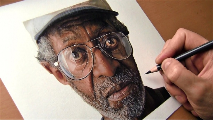 Inspiration Realistic Colored Pencil Drawings Tutorial Hyperrealistic Drawing Made With Colored Pencils    Time Lapse Image