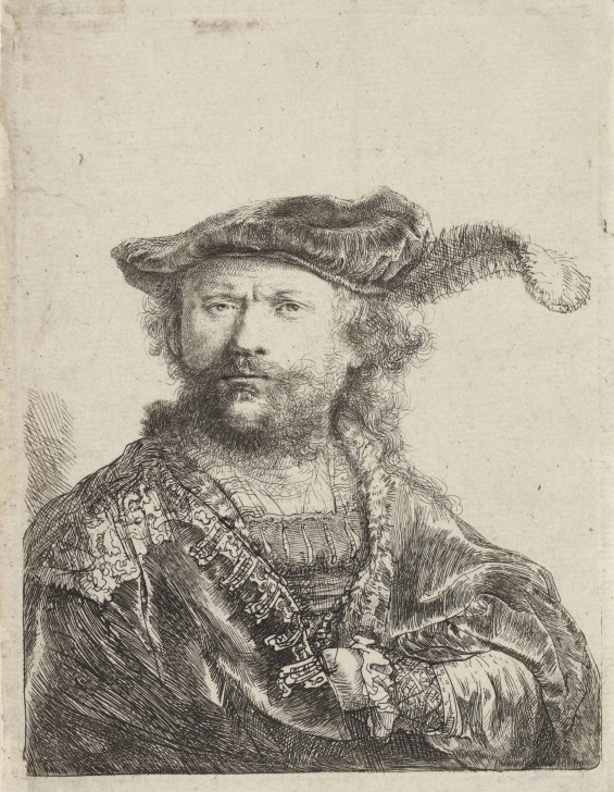 Inspiration Rembrandt Pencil Drawings Easy Before The Mirror: Rembrandt 's Self-Portrait Etchings | Christie's Picture