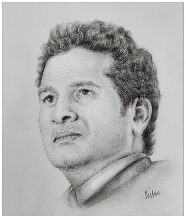 Inspiration Sachin Tendulkar Pencil Sketch Easy Pin By Anu Tharane On Pencil In 2019 | Art Sketches, Pencil Drawings Photo