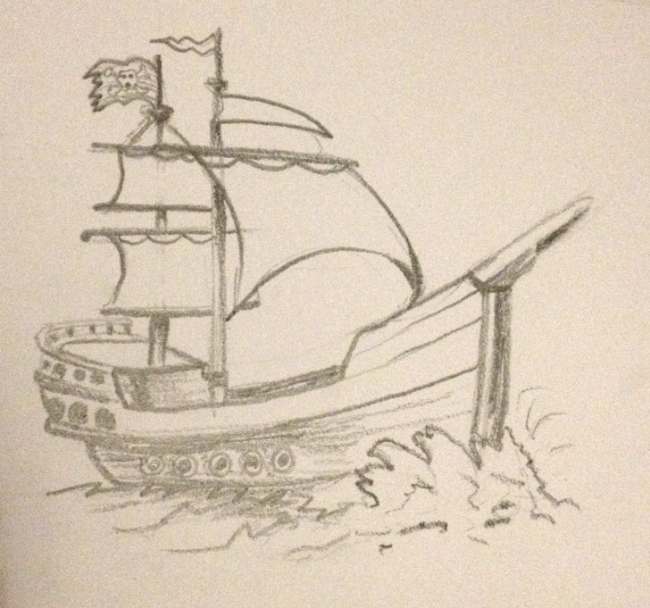 Inspiration Ship Pencil Sketch Techniques Ship Pencil Sketch At Paintingvalley | Explore Collection Of Picture