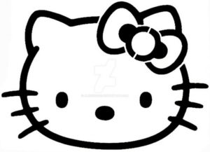 Inspiration Stencil Art Easy Tutorial Easy Hello Kitty Stencil By Alexisfobe On Deviantart Image