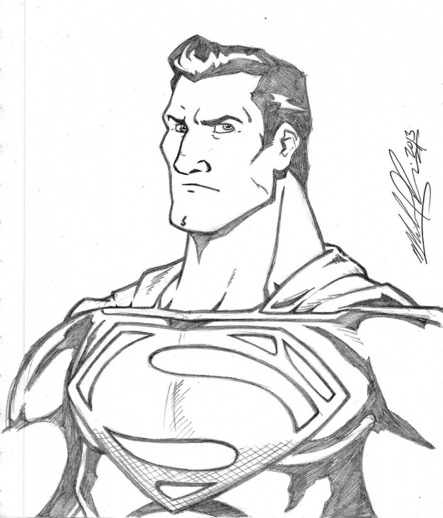 Inspiration Superman Pencil Drawing Free Superman Sketch Drawing And Superman Sketch Drawing Man Of Steel Pics