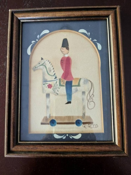 Inspiration Theorem Painting Supplies for Beginners R. Ross Theorem Painting Man On Toy Horse Photo