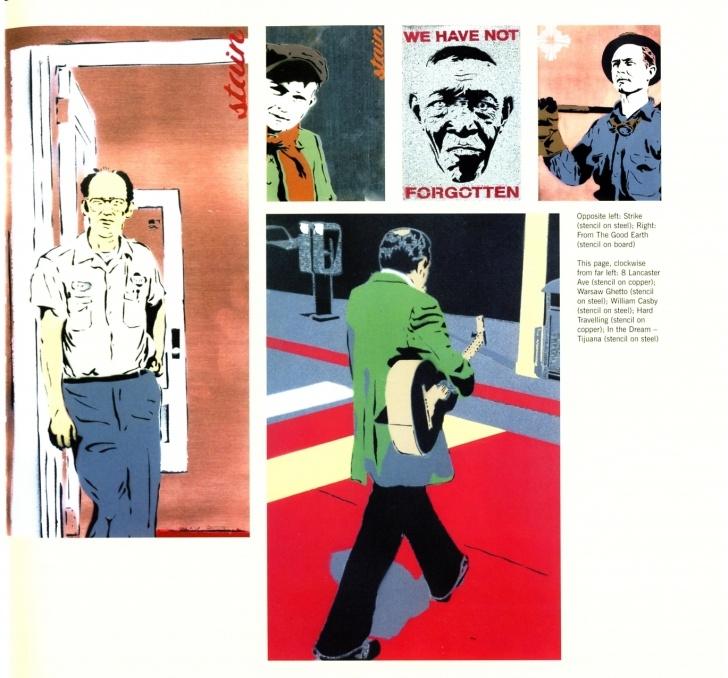 Inspiration Tristan Manco Stencil Graffiti Lessons Stencil Graffiti / Tristan Manco | Eclectic: Street Art | Stencil Pic