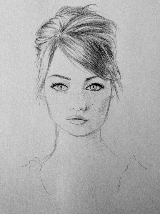 Inspiring 5 Pencil Method Free 5-Pencil-Method-How-To-Draw-Hair-Learned-Realistic-Portraits-In-Only Pictures