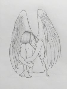 Inspiring Angel Pencil Sketch Courses Image Result For Angel Drawing | Drawing In 2019 | Angel Drawing Pics