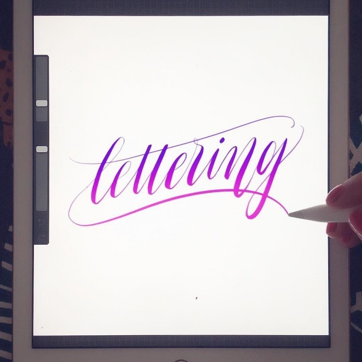 Inspiring Apple Pencil Calligraphy for Beginners Pin By The Scratchy Nib On My Lettering & Calligraphy | Ipad Pro Pictures