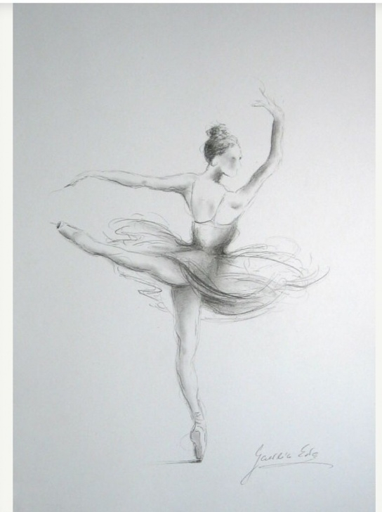 Inspiring Ballerina Pencil Drawing Courses Love This Drawing | 1 In 2019 | Ballet Drawings, Pencil Drawings Photos