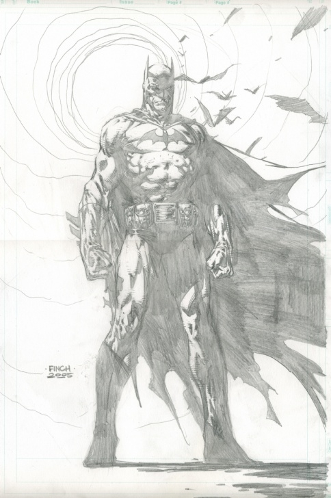 Inspiring Batman Pencil Art Easy Batman, In David Finch's Pencils Comic Art Gallery Room Pics