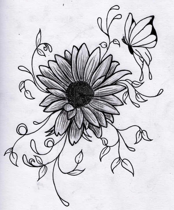 Inspiring Beautiful Pencil Drawings Of Flowers Ideas Free Drawing Of Flowers, Download Free Clip Art, Free Clip Art On Picture