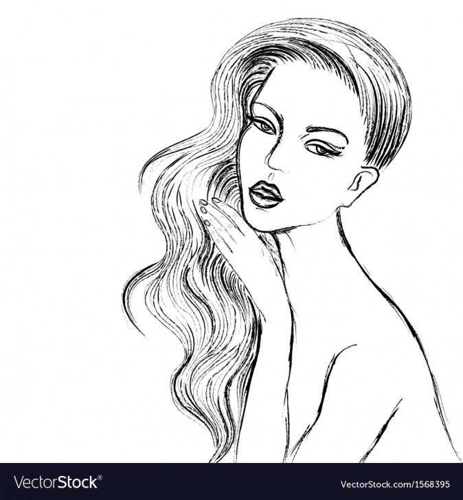 Beautiful Woman Sketch