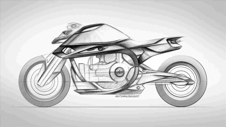 Inspiring Bike Pencil Drawing Courses Motorcycle Pencil Sketches Pictures
