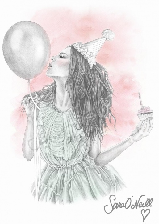 Inspiring Birthday Pencil Drawings Free The Birthday Girl' Pencil Drawing <3 | Art | Pencil Drawings Of Pics