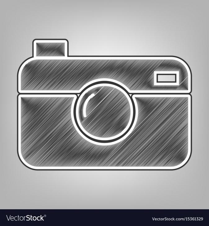 Inspiring Camera Pencil Sketch Techniques for Beginners Digital Photo Camera Sign Pencil Sketch Pic
