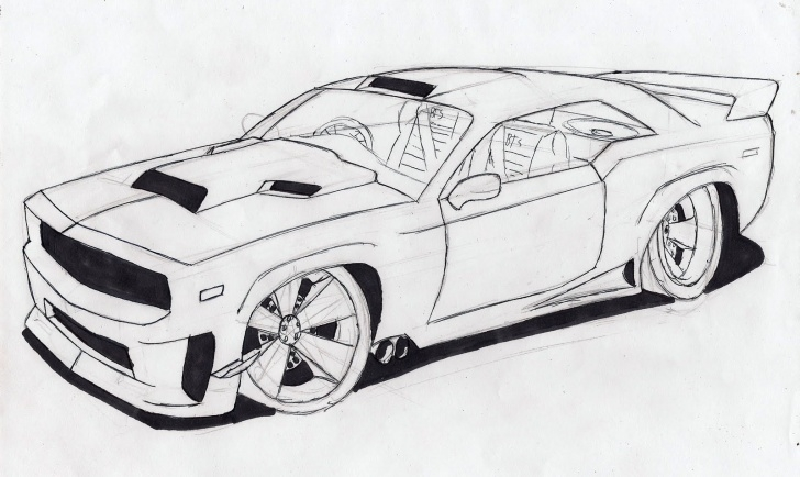 Inspiring Cool Car Drawings In Pencil Techniques Free Drawings Of Cars, Download Free Clip Art, Free Clip Art On Photo
