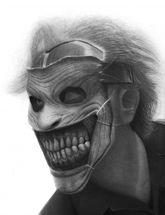"Inspiring Creepy Pencil Drawings Courses New 52 Joker"" Pencil Drawing By Me : Creepy Images"
