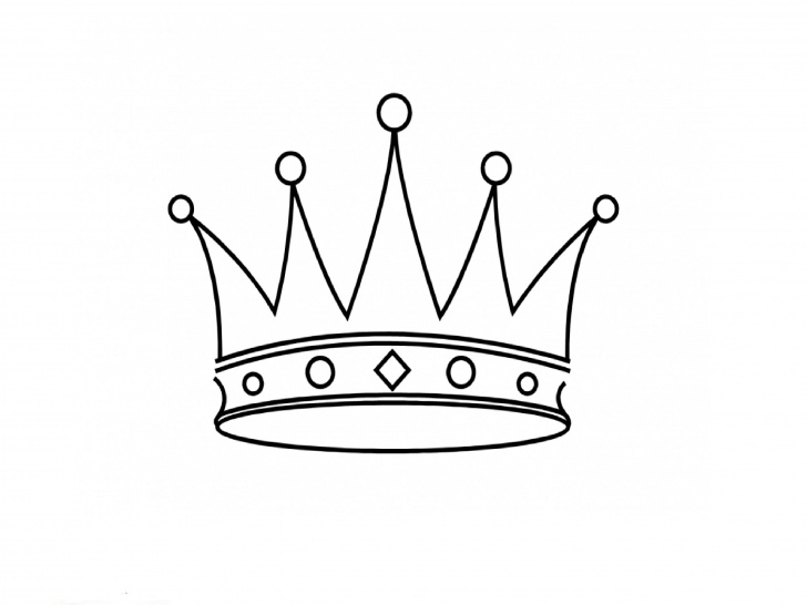 Crown Pencil Drawing