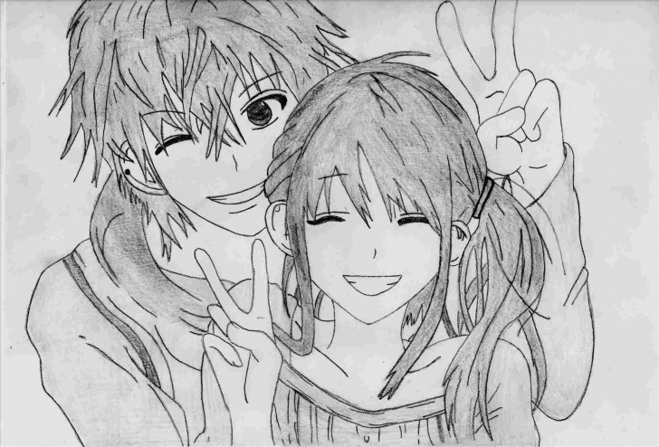 Inspiring Cute Anime Drawings In Pencil Tutorial Easy-Really-Cute-Anime-Drawings-Draw-Doesntnbspnecessarilynbsphave Photo