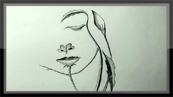 Inspiring Easy And Simple Pencil Drawings Lessons Simple Easy Pencil Drawing A Cute Face Step By Step Quickly Images