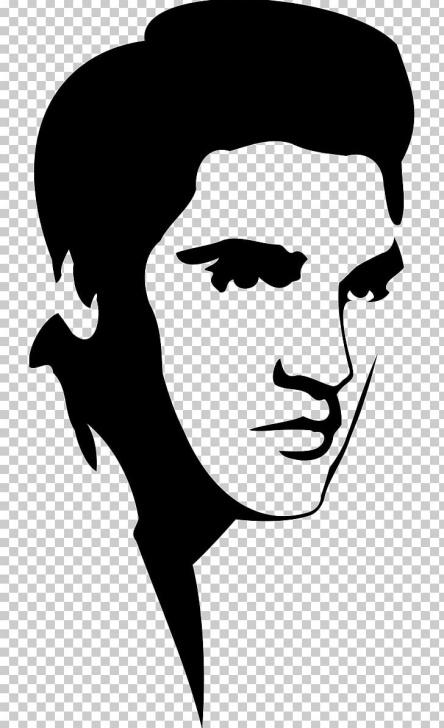Inspiring Elvis Stencil Art Free Elvis Presley Stencil Art Silhouette Png, Clipart, Animals, Art Picture