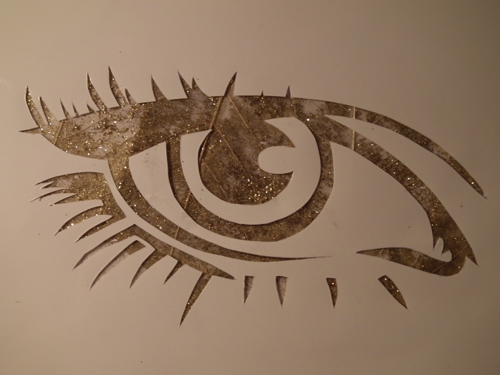 Inspiring Eye Stencil Art Lessons Eye On The Mind | Freyaes Image
