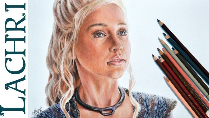 Inspiring Faber Castell Polychromos Drawing Tutorial Drawing Daenerys W/ Faber-Castell Polychromos Colored Pencil Pictures