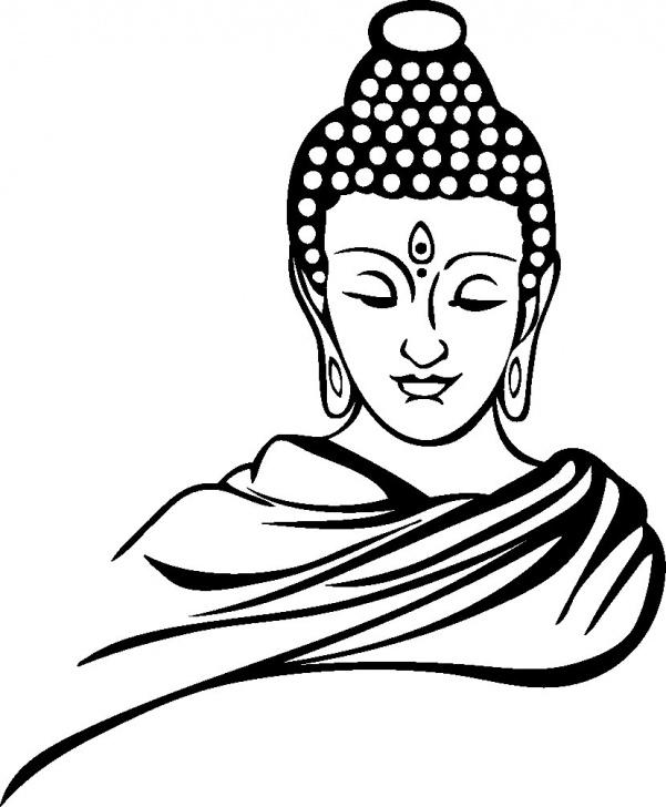 Inspiring Gautam Buddha Pencil Sketch Easy Gautama Buddha Drawing, Pencil, Sketch, Colorful, Realistic Art Picture