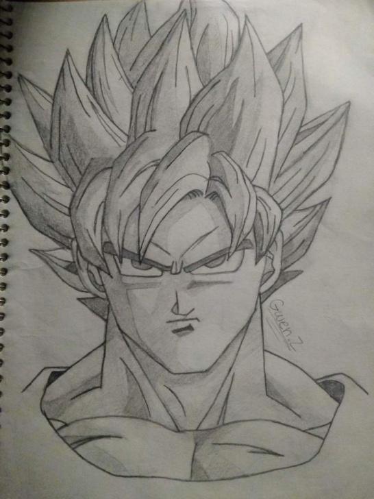 Inspiring Goku Pencil Drawing for Beginners Goku Pencil Drawing | Dragonballz Amino Pictures