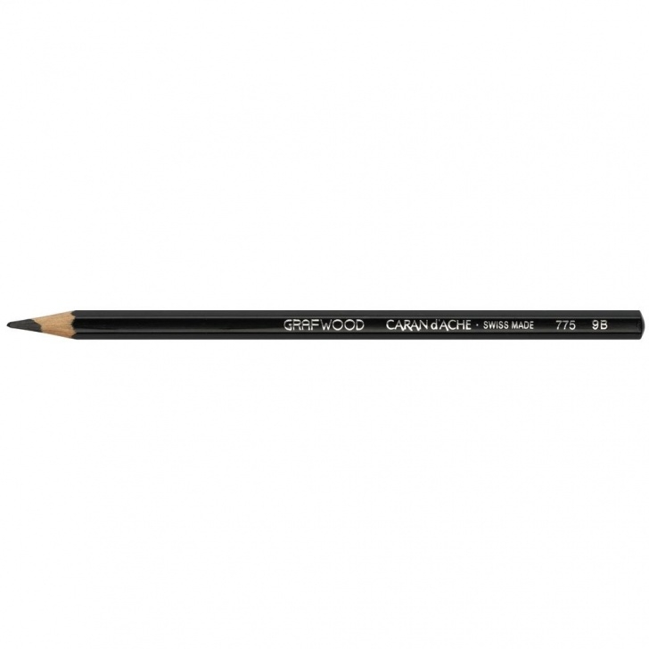 Inspiring Graphite Pencil Range Lessons Caran D'ache Grafwood Graphite Pencil 9B Photos