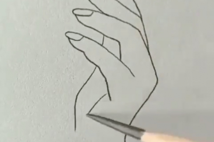 Inspiring Hand With Pencil Drawing Techniques People Tried To Draw Human Hands With This Trick And The Results Are Photo