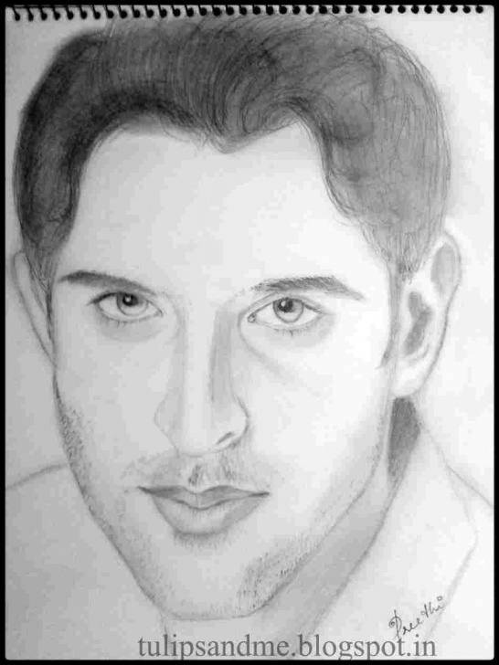 Inspiring Hrithik Roshan Pencil Sketch Easy Hrithik Roshan Pencil Sketch | Drawing Work Photos