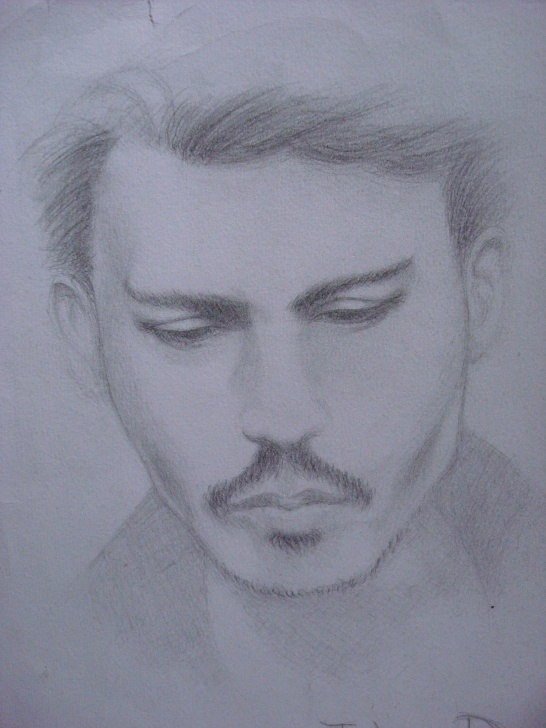 Inspiring Johnny Depp Sketch Free Johnny Depp Sketch - Johnny Depp Fan Art (31840229) - Fanpop Photo