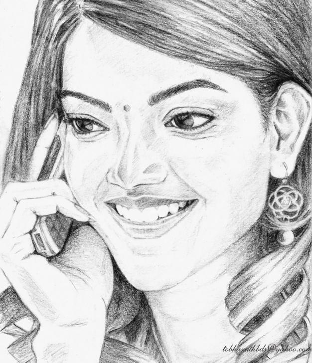 Inspiring Kajal Agarwal Sketch Ideas Kajal Agarwal | Bharath Reddy | Flickr Photo